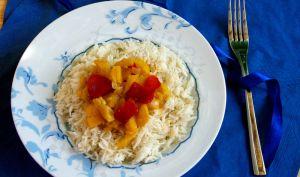 Poivrons et courgettes à la citronnelle