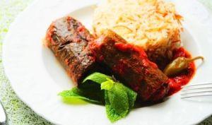 Courgette farcie à la viande hachée/Recette libanaise