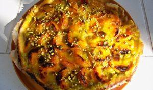 Cuisine en folie: Tarte aux abricots et crème de pistache