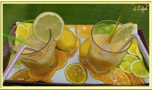 Jus de Citrons / Oranges très frais