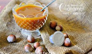 Caramel café noisette au beurre salé comme une pâte à tartiner