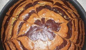 Marbré de Mr Felder avec la technique du zébra cake - MéliMélFlo