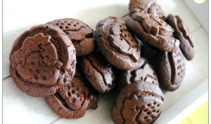 Pillows Cookies chocolat et fraises