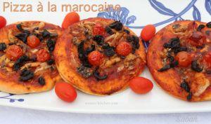 Pizza à la marocaine   Sousoukitchen