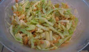 Salade exotique sucré-salé au chou