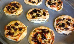 Mini Pizza schneck à la Marocaine