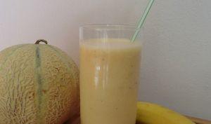 Milk-shake parfum melon-banane
