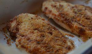 Escalopes de poulet croustillantes au parmesan