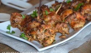 Cuisses de poulet roulées