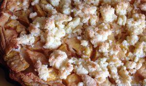 Clafoutis à la mangue, streusel de noix de coco | La cuisine de Lolo