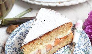 La fin des Abricots !!! Gâteau à partager miel et abricots