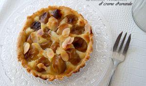 Tartelettes mirabelles et crème d'amande