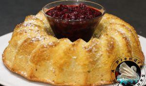 Biscuit de Savoie au citron et fleur d'oranger