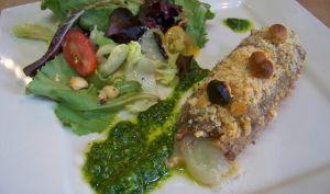 Roulés de veau à l'italienne, prosciutto, tomme italienne et noisettes
