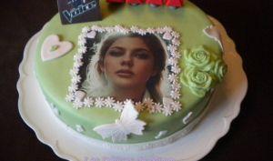 Gâteau Le monde de Louane