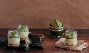 Tarte Kiwi et Crème Pâtissière … en Verrine
