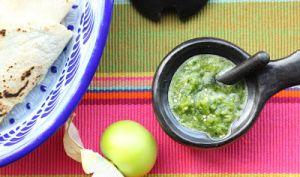 Sauce verte aux tomatilles