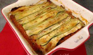 Lasagnes de courgettes et veau (sans pâte)