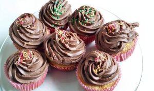 Cupcakes glaçage chocolat au thermomix facile et rapide