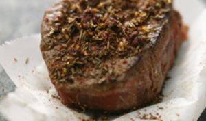 Pavé de bœuf aux épices