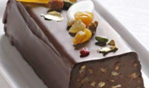Bûche Lingot au chocolat