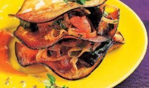Millefeuille d'aubergine