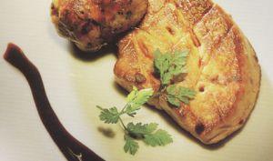 Foie Gras de Canard poele Crepinette de porc