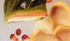 Supreme de volaille en feuille de chou & foie gras