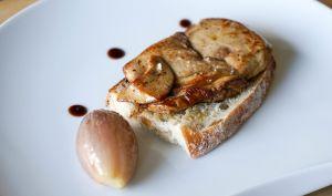 Foie gras à la plancha