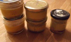Foie gras en bocaux ou en terrine