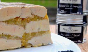 Marbré de foie gras aux prunes