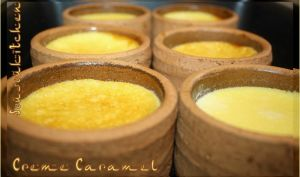 Crème caramel - Flan