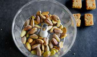 Crumbles d'endives au foie gras - Etape 2