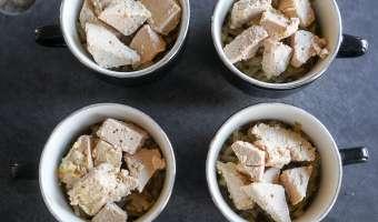 Crumbles d'endives au foie gras - Etape 6