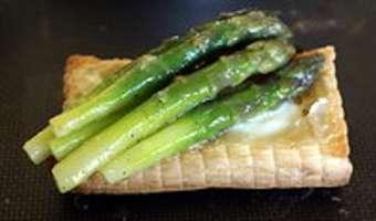 Feuilletés d'asperges vertes - Etape 6