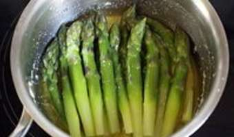 Feuilletés d'asperges vertes - Etape 5