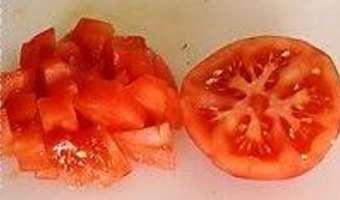 Flans de tomates - Etape 1