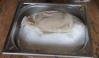 Foie gras au sel - Etape 8
