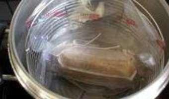 Ballotine de foie gras - Etape 9