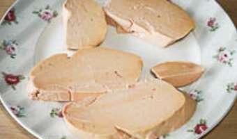 Foie gras à la plancha - Etape 1