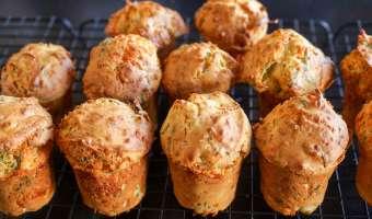 Muffins au bacon et au fromage - Etape 10