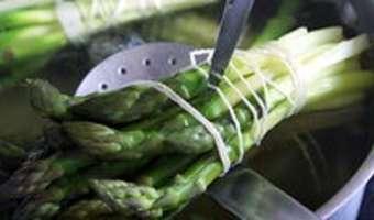 Tagliatelles aux pointes d'asperges - Etape 2