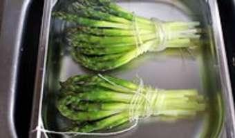 Éplucher et cuire des asperges fraîches - Etape 11