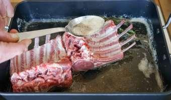 Carré d'agneau rôti - Etape 6