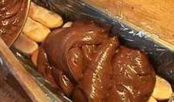 Charlotte chocolat orange - Etape 11