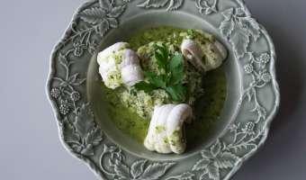 Filets de sole au jus de persil - Etape 12