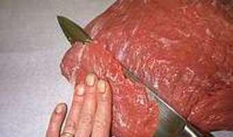 Parer et détailler une noix de veau - Etape 7