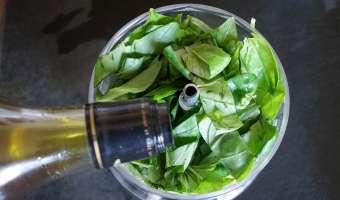 Pesto rouge et pesto vert - Etape 4