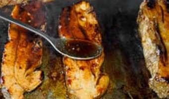 Tendrons de veau laqués à la plancha - Etape 13