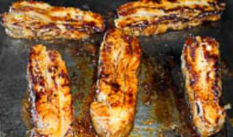 Tendrons de veau laqués à la plancha - Etape 14